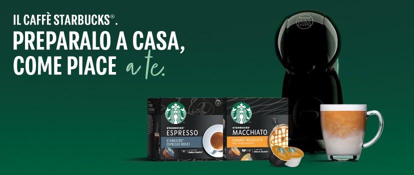 Starbucks® by Nescafé® Dolce Gusto®