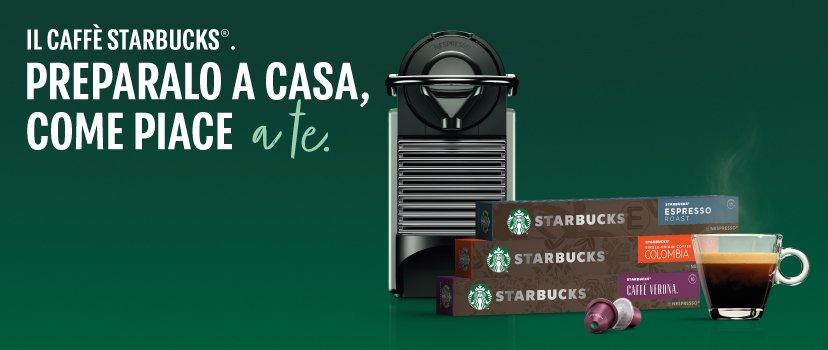 Starbucks® by Nespresso®