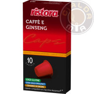 10 capsule Caffè e Ginseng Compatibili Nespresso®