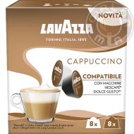 16 capsule Cappuccino compatibili Nescafé® Dolce Gusto®