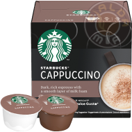 12 capsule Cappuccino by Nescafé® Dolce Gusto®