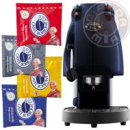 Macchina Frog Magica Emozione Blu + 60 cialde ESE 44 mm Caffè Borbone