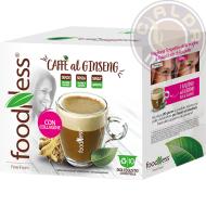 10 capsule Caffè al Ginseng con Collagene compatibili Nescafé® Dolce Gusto®