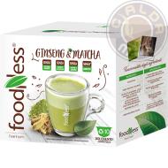 10 capsule Ginseng e Matcha compatibili Nescafé® Dolce Gusto®