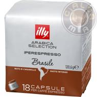 18 capsule Iperespresso Monoarabica Brasile