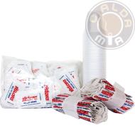 Kit accessori - 100 bicchieri - 100 palette - 100 bustine di zucchero