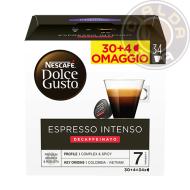 30+4 capsule omaggio Espresso Intenso Decaffeinato