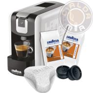 Lavazza Espresso Point® EP Mini bianca + 100 capsule Cremoso + Filtro Aquagusto 100 CU