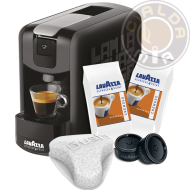 Lavazza Espresso Point® EP Mini nera + 100 capsule Cremoso + Filtro Aquagusto 100 CU
