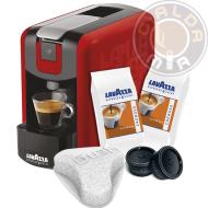 Lavazza Espresso Point® EP Mini rossa + 100 capsule Cremoso + Filtro Aquagusto 100 CU