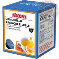 10 capsule Camomilla solubile Arancia e Miele compatibili Nescafé Dolce Gusto