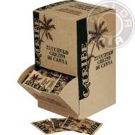 150 bustine Zucchero Grezzo di Canna Caribe