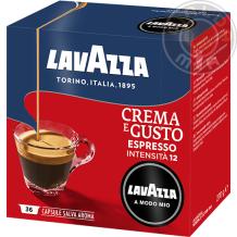 36 capsule Crema & Gusto Lavazza A Modo Mio®