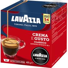 54 capsule Crema & Gusto Lavazza A Modo Mio®