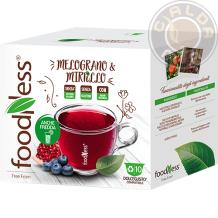 10 capsule Melograno e Mirtillo compatibili Nescafé® Dolce Gusto®