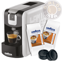 Lavazza Espresso Point® EP Mini Bianca + 100 capsule Cremoso